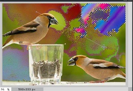 Инструмент Градиент в Pixlr Editor