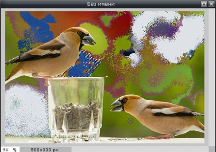 Инструмент Кисть в Pixlr Editor
